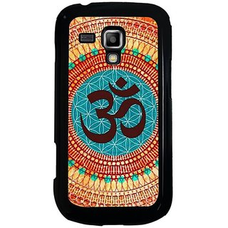 Fuson Multi Designer Phone Back Cover Samsung Galaxy S Duos S7562 (The Powerful Om Sign)