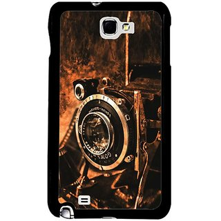 Fuson Brown Designer Phone Back Cover Samsung Galaxy S5 (The Vintage Camera)
