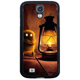 Fuson Brown Designer Phone Back Cover Samsung Galaxy S4 I9500 (Warming Up By The Lamp)
