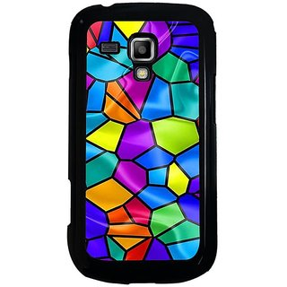 Fuson Multi Designer Phone Back Cover Samsung Galaxy S Duos S7562 (An Animated Mosaic)