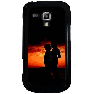 Fuson Multi Designer Phone Back Cover Samsung Galaxy S Duos S7562 (Me And You)