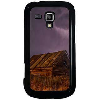 Fuson Multi Designer Phone Back Cover Samsung Galaxy S Duos S7562 (A Stormy Night)