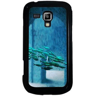 Fuson Multi Designer Phone Back Cover Samsung Galaxy S Duos S7562 (A School Of Fish)