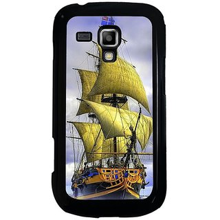 Fuson Multi Designer Phone Back Cover Samsung Galaxy S Duos S7562 (A Ship In The Ocean)