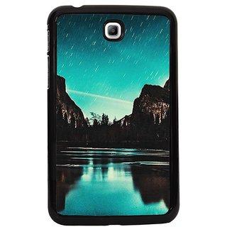 Fuson Multi Designer Phone Back Cover Samsung Galaxy Tab 3 (Star Gazing)