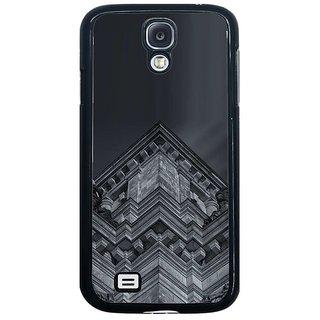 Fuson Grey Designer Phone Back Cover Samsung Galaxy S4 I9500 (Beautiful Symmetric Patterns)