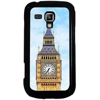 Fuson Multi Designer Phone Back Cover Samsung Galaxy S Duos S7562 (The Big Ben Clock Face)