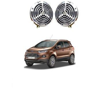 Ctn Chrome Grill Horn Set Of  Designed For Ford Ecosport