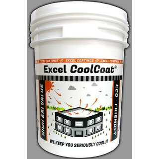 Excel CoolCoat - White Reflective Roof Coating
