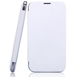 Callmate Flip Case Battery Cover Replaceable For Karban Titanium S5 With Free Screen Guard- White