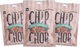 Chip Chops Chicken  Codfish Rolls