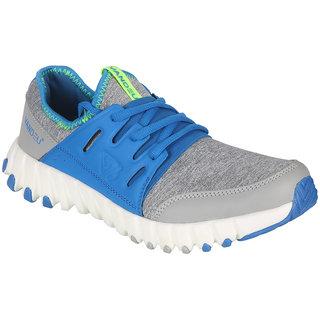 Vandeu Men Gray Lace-up Running Shoes
