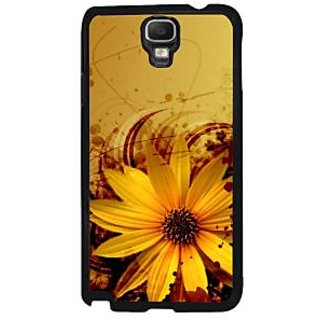 Fuson Brown Designer Phone Back Case Cover Samsung Galaxy Note 3 Neo (Flower With A Background)