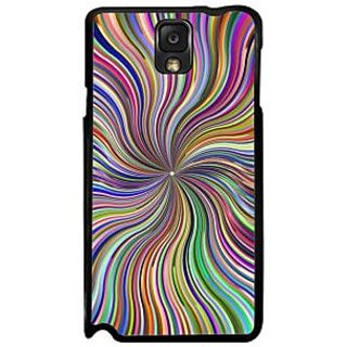 Fuson Multicolor Designer Phone Back Case Cover Samsung Galaxy Note 3 (Art Of Colors)