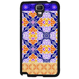 Fuson Blue Designer Phone Back Case Cover Samsung Galaxy Note 3 Neo (Intricate And Beautiful)