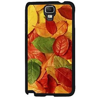 Fuson Multicolor Designer Phone Back Case Cover Samsung Galaxy Note 3 Neo (Fallen Leaves)