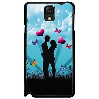 Fuson Multicolor Designer Phone Back Case Cover Samsung Galaxy Note 3 (Happily Ever After)