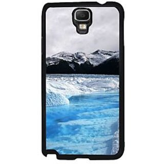 Fuson Multicolor Designer Phone Back Case Cover Samsung Galaxy Note 3 Neo (Mesmerising Snowfall)