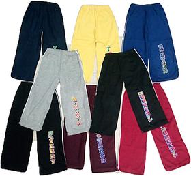 Kids Cotton Multicolour Track Pant Set of 8