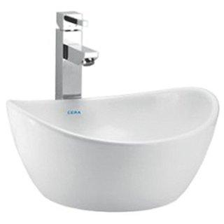Cera Cloister 1046 Wash Basin (White , One Piece)