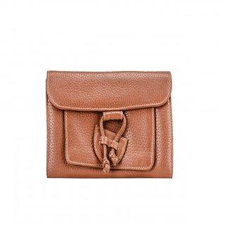 Deeya Brown Genuine Leather Ladies Wallet