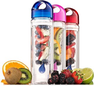 Kudos Fruit Infuser Detox 700 ml Sipper, Bottle, Shaker  Pack of 1 Multicolor