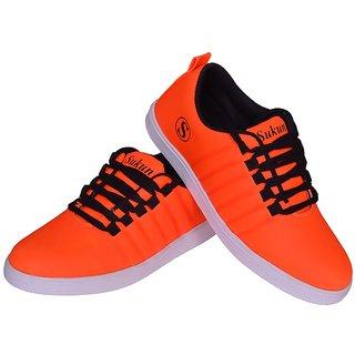 Sukun Orange Casual Shoe