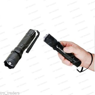 Right traders Rechargeable Self Defense Stun Gun with Flashlight Torch - Women safety ( pack of 1 )