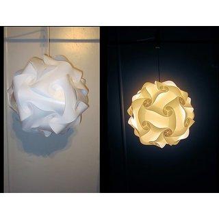 Ball Lamp, Jigsaw Lamp, IQ Lamp, Hanging Lamp, Room Lamp, Ceiling Lamp, Beautiful office, Night Lamp, Decorative Lamp,