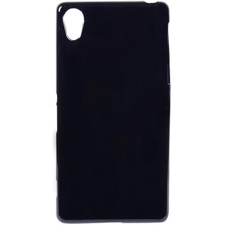 separation shoes abb2c 4ffe5 Buy Sony Xperia Z2 Back cover black Online @ ₹240 from ShopClues