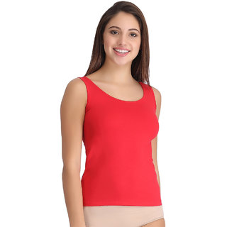 Clovia Cotton Slim Fit Camisole
