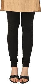 Perfect Black Cotton Lycra Leggings