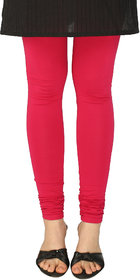 Perfect Pink Cotton Lycra Leggings