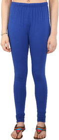 Perfect Royal Blue Cotton Lycra Leggings