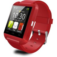 Bluetooth Smartwatch U8 White With Apps Compatible with iBall Andi 5T Cobalt 2