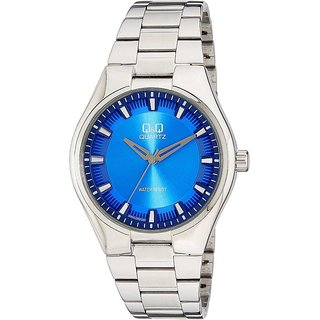 Q&Q Quartz Blue Round Men Watch 100Q954J202Y