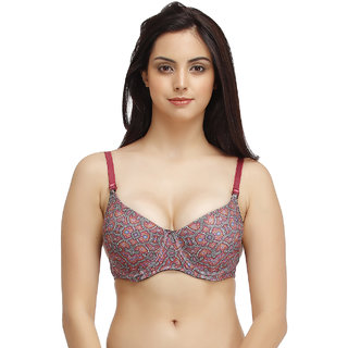 fb99ad9ce6104 Buy Clovia Printed Underwired Push-Up T-Shirt Bra Online - Get 70% Off