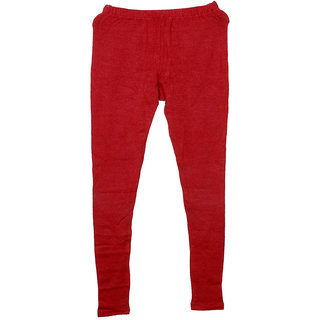 IndiWeaves Red Wool Women's Legging