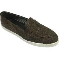 Beta Panchu Men's Brown Lace-up Casual Shoes