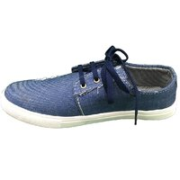 Beta Panchu Men's Blue Lace-up Casual Shoes