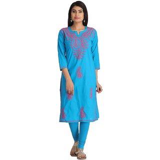 Pari Multi Color Printed Cotton Women's Unstitched kurti