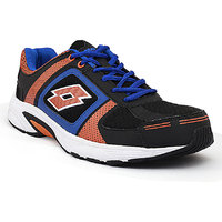 Lotto Men's Black Sports Shoes