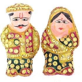 handicraft home decor husband wife showpiece