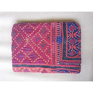 Handicraft passport pouch