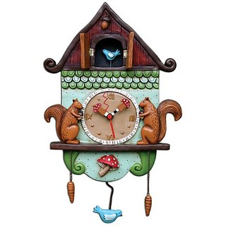 Allen Designs Cuckoo Bird Pendulum Clock Buy Allen