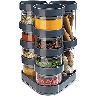 Joseph Joseph Spice Store Spice Storage Carousel, Grey available at ShopClues for Rs.8340