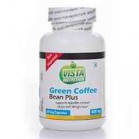 Vista Nutrition Green Coffee Bean Plus 400mg  60 Capsul
