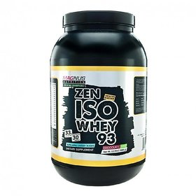 Magnus Nutrition Iso Whey 93  -  2 Lbs (1000 Gms) Vanil