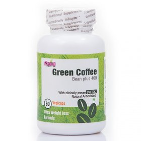 Zenith Nutrition Green Coffee bean extract  - 400 mg - 120 Capsules