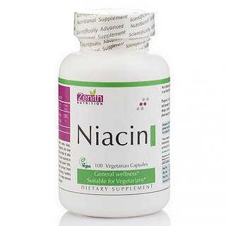 Zenith Nutrition Niacin - 100 Capsules